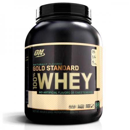 Optimum Naturally Flavored Gold Standard 100% Whey, 2.3 кг