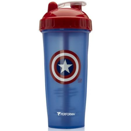 Perfect Shaker Hero Marvel 800 мл, Captain America