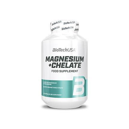 BioTech Magnesium + Chelat, 60 капсул