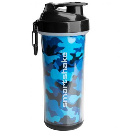 Smart Shake Double Wall 750 мл, синій камуфляж