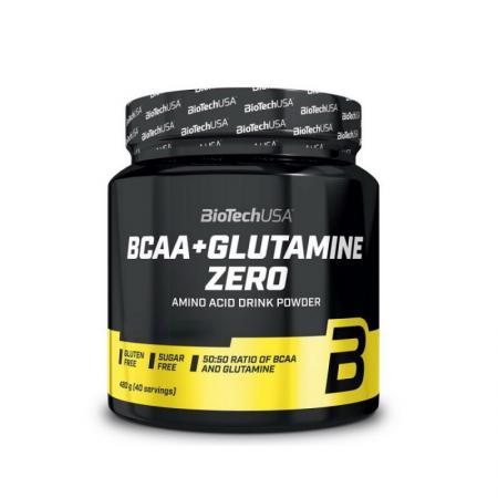 BioTech BCAA+Glutamine Zero, 480 грамм