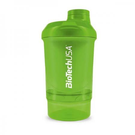 Biotech Wave + Nano Shaker 300 мл, салатовый