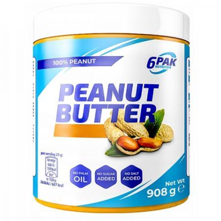 6PAK Nutrition Peanut Butter Pak, 908 грамм
