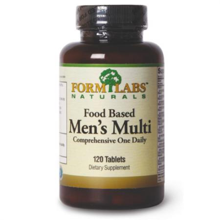 Form Labs Food Based Mens Multi, 120 таблеток