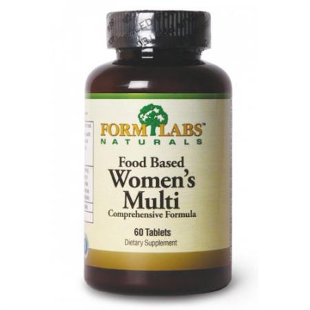 Form Labs Food Based Womens Multi, 60 таблеток