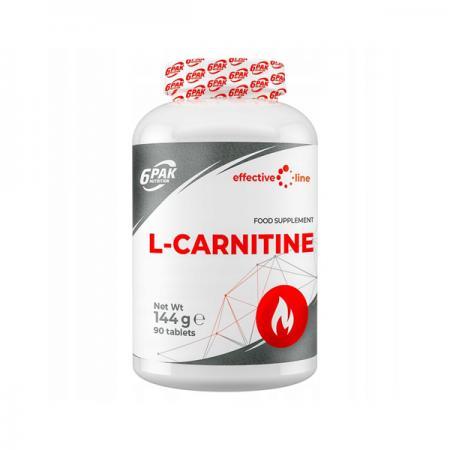 6PAK Nutrition L-Carnitine, 90 таблеток - Effective Line
