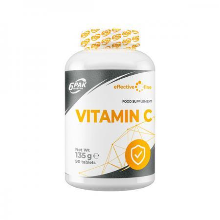 6PAK Nutrition Vitamin C, 90 таблеток