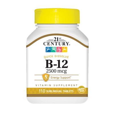 21st Century B-12 2500 mcg, 110 таблеток