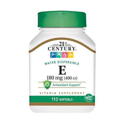 21st Century Vitamin E 400 IU, 110 капсул
