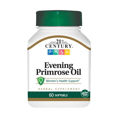 21st Century Evening Primrose Oil, 60 капсул