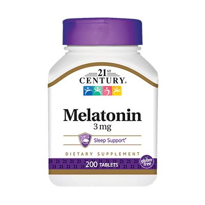 21st Century Melatonin 3 mg, 200 таблеток