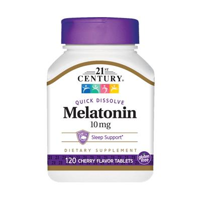 21st Century Melatonin 10 mg, 120 таблеток