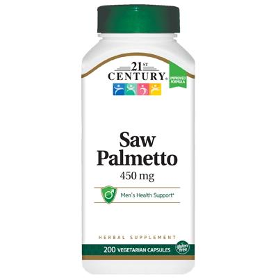 21st Century Saw Palmetto Extract, 200 вегакапсул