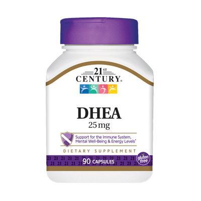 21st Century DHEA 25 mg, 90 капсул