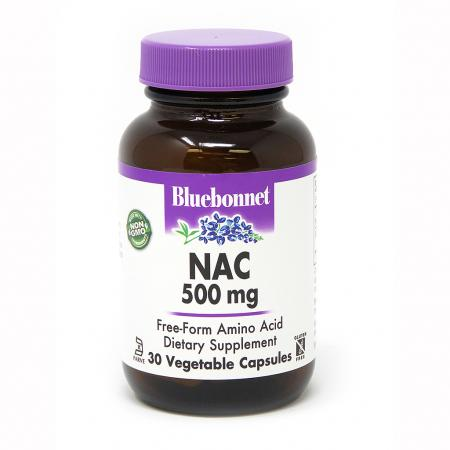 Bluebonnet Nutrition NAC 500 mg, 30 капсул