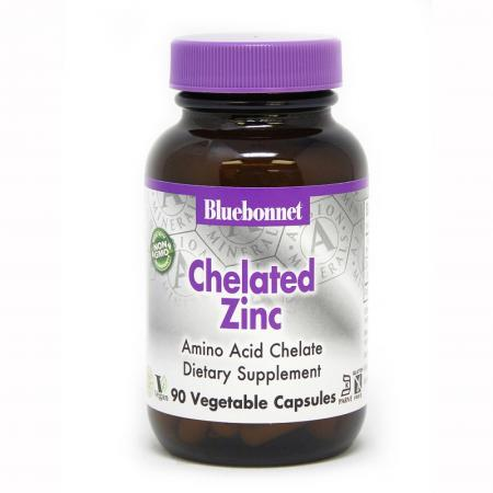 Bluebonnet Nutrition Chelated Zinc, 90 капсул