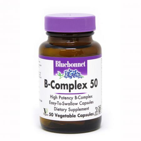Bluebonnet В-Complex 50, 50 вегакапсул