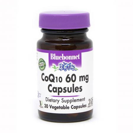 Bluebonnet CoQ10 60 mg, 30 вегакапсул