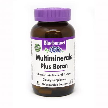 Bluebonnet Multiminerals Plus Boron, 180 вегакапсул