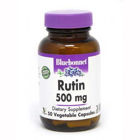 Bluebonnet Rutin 500 mg, 50 капсул