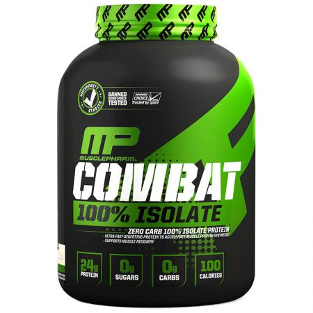 MusclePharm Combat 100% Isolate, 907 грамм