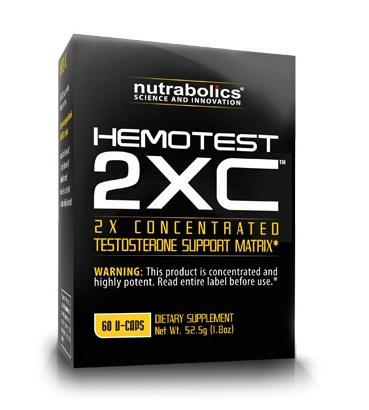 Nutrabolics HemoTest 2XC, 60 таблеток