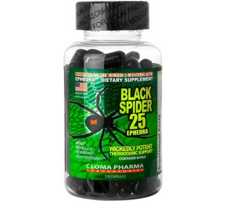 Cloma Pharma Black Spider, 100 капсул