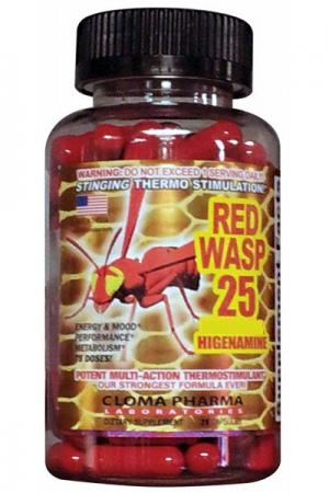 Cloma Pharma Red Wasp, 75 капсул