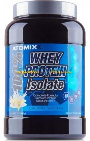Atomixx 100% Whey Protein Isolate, 900 грамм