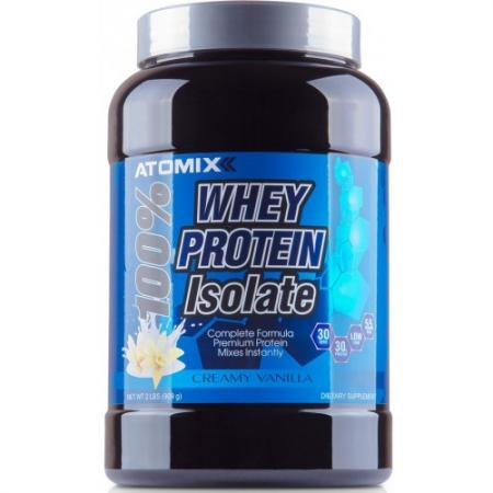 Atomixx 100% Whey Protein Isolate, 900 грамм