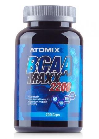 Atomixx BCAA Maxx 2200, 200 капсул