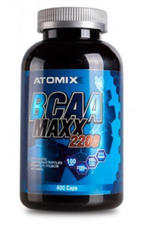Atomixx BCAA Maxx 2200, 400 капсул