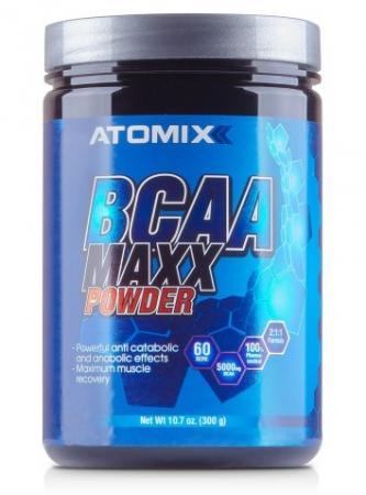 Atomixx BCAA Maxx Powder, 300 грамм