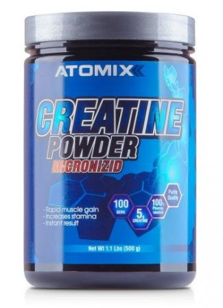 Atomixx Creatine Powder Micronizid, 500 грамм