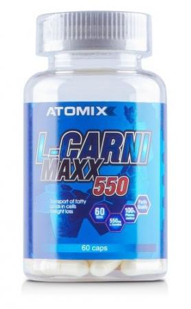 Atomixx L-Carni Maxx 550, 60 капсул