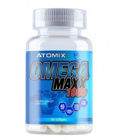 Atomixx Omega Maxx 1000, 90 капсул