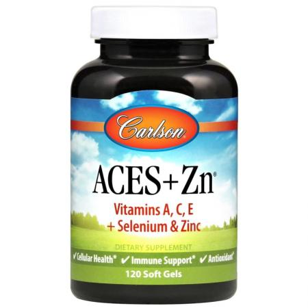 Carlson Labs Aces + Zn, 120 капсул