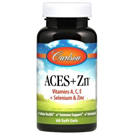 Carlson Labs ACES + Zn, 60 капсул