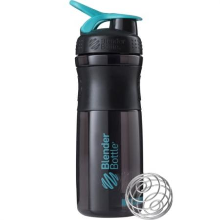 BlenderBottle SportMixer 820 мл, Black Cyan
