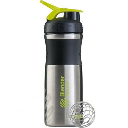 BlenderBottle SportMixer Steel 820 мл, Green