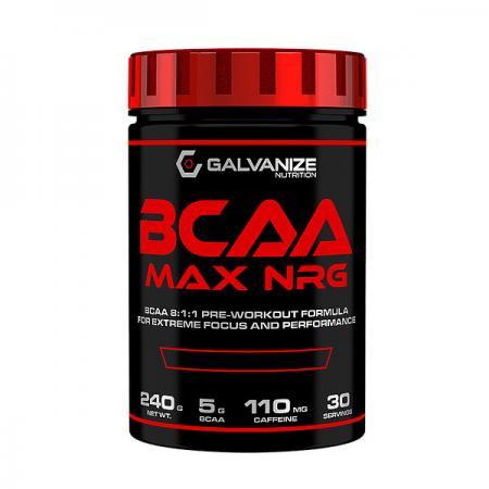Galvanize Nutrition BCAA MAX NRG, 240 грамм