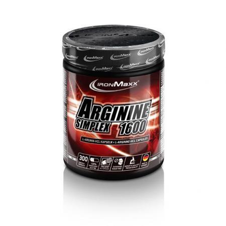 IronMaxx Arginin Simplex 1600, 300 капсул