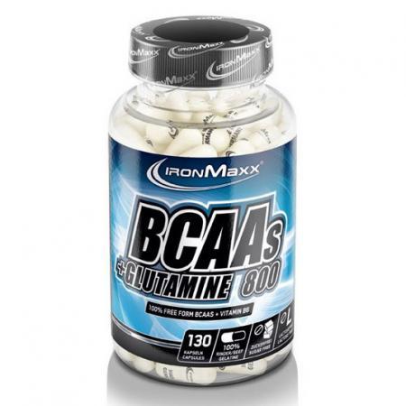 IronMaxx BCAAs + Glutamine 800, 130 капсул