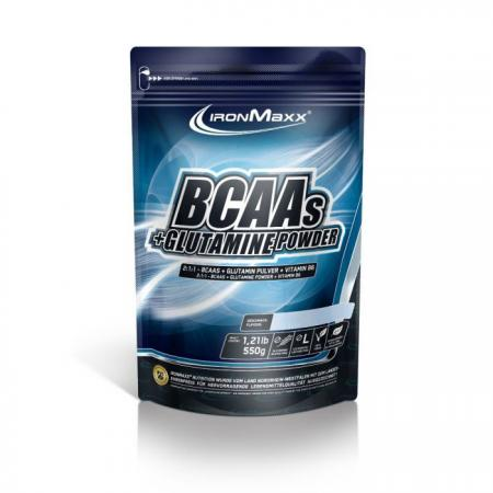 IronMaxx BCAAs + Glutamine Powder, 550 грамм
