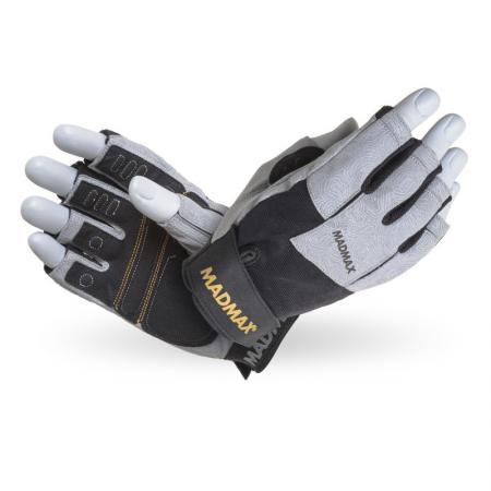 Перчатки MAD MAX Damasteel, серые - MFG 871