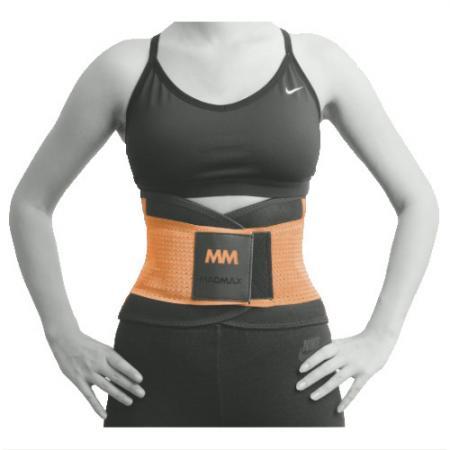 Пояс Компрессионный MAD MAX MFA 277, оранжевый