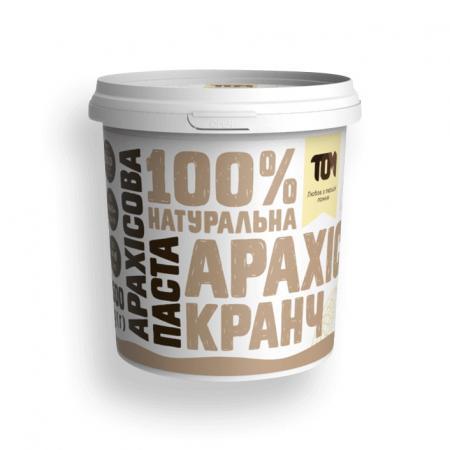 MasloTom арахисовая паста кранч, 500 грамм