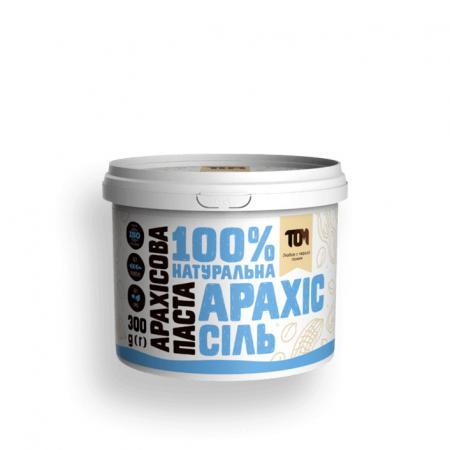 MasloTom арахисовая паста с солью, 300 грамм