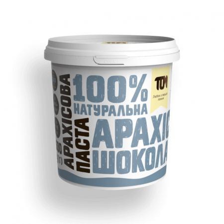 MasloTom арахисовая паста с шоколадом и солью, 1 кг (Crunchy)