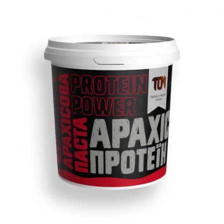 MasloTom арахисовая паста с протеином, 500 грамм